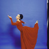 "Martha Graham Dance Company, studio portrait of Maxine Sherman in ""Episodes"", choreography by Martha Graham"