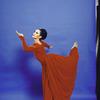 "Martha Graham Dance Company, studio portrait of Maxine Sherman in ""Episodes"", choreography by Martha Graham"
