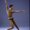 "Martha Graham Dance Company, studio portrait of dancer Steve Rooks in ""Circe"", choreography by Martha Graham"
