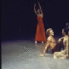 "David Hatch Walker at center and Janet Eilber (in white) in a Martha Graham production of ""Diversion of Angels"" (New York)"