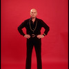 """Publicity photo of actor Yul Brynner while appearing in Broadway revival of """"The King and I"""" (New York)"""