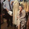 Publicity shot of costume designer Jane Greenwood and costume maker Milo Morrow in costume shop (New York)