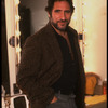 "Publicity photo of actor Judd Hirsch in his dressing room during run of Broadway play ""I'm Not Rappaport."" (New York)"