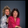 Publicity photo of (L-R) writer Jane Wagner and actress Lily Tomlin (New York)