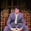 "Publicity photo of direcotr/choreographer/actor Tommy Tune on the set of his Broadway musical ""Grand Hotel"" (New York)"