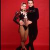 Publicity photo of Olympic skaters Brian Boitano and Katerina Witt (New York)