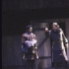 "Actor Raul Julia (2L) w. cast in a scene fr. the New York Shakespeare Festival production of the play ""Macbeth"" (New York)"