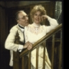 """Actors Philip Bosco & Dody Goodman in a scene fr. the Roundabout Theatre production of the play """"Ah, Wilderness!"""" (New York)"""