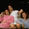 "Actresses (L-R) Frances McDormand, Jane Alexander and Madeline Kahn in scene from the off-Broadway production of Wendy Wasserstein's play ""The Sisters Rosensweig"" (New York)"