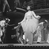 "Actress Leslie Uggams (C) in the middle of the ""Blow, Gabriel, Blow"" number from the Lincoln Center revival of the musical ""Anything Goes"""