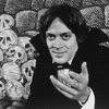 "Actor Raul Julia in a scene from the Broadway production of the play ""Dracula"""