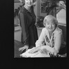 (L-R) Broadway producers Nell Nugent and Elizabeth McCann in their office