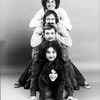 "(T-B) Actors Harold Ramis, Joe Flaherty, Brian Doyle Murray, John Belushi and Gilda Radner of the Off-Broadway production of the play ""National Lampoon's Lemmings."""