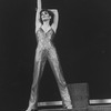 """Actress Liza Minnelli in a sequin-covered pants outfit while performing a number from the Broadway production of the musical """"The Act"""""""