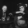 """Actors Liv Ullmann and Robert Donley in a scene from the Broadway revival of the play """"Anna Christie.""""."""