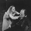 """(L-R) Actors John Lithgow, Liv Ullmann and Robert Donley in a scene from the Broadway revival of the play """"Anna Christie.""""."""