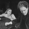 "Actors John Lithgow and Liv Ullmann in a scene from the Broadway revival of the play ""Anna Christie.""."