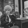 """(L-R) Actresses Dorothy Loudon and Sandy Faison in a scene from the Broadway production of the musical """"Annie.""""."""