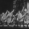 "A group of dancing orphans in a scene from the Broadway production of the musical ""Annie.""."