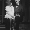 "Actors Danielle Findley as Little Orphan Annie and Harve Presnell as Daddy Warbucks in a scene from the pre-Broadway Kennedy Center production of the musical ""Annie 2.""."