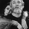 "Actors Philip Bosco and Irene Papas in a scene from the Circle In The Square production of the play ""The Bacchae"""
