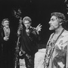 "(L) Actor Philip Bosco with two others in a scene from the Circle In The Square production of the play ""The Bacchae"""