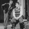 """(L-R) Actors Patrick Breen and Matthew Broderick in a scene from the Broadway production of the play """"Brighton Beach Memoirs.""""."""