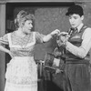 """Actors Marilyn Chris and Matthew Broderick in a scene from the Broadway production of the play """"Brighton Beach Memoirs.""""."""