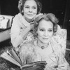 """(L-R) Actresses Irene Worth and Constance Cummings in a scene from the Roundabout Theatre revival of the play """"The Chalk Garden.""""."""