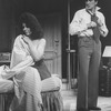 "Actors Ann Wedgeworth and Dick Latessa in a scene from the Broadway production of the play ""Chapter Two."""