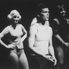 "A scene from the Broadway production of the musical ""A Chorus Line.""."