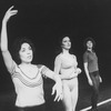 "Dancer Kelly Bishop (C) with others in a scene from the Broadway production of the musical ""A Chorus Line.""."