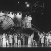 """(C, L-R) Actors James Naughton, Kay McClelland and Greg Edelman in a scene from the Broadway production of the musical """"City Of Angels"""""""