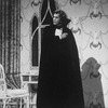 "Actor Frank Langella in a scene from the Broadway revival of the play ""Dracula"""