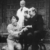 "(R-L) Actors Jerome Dempsey, Baxter Harris and Richard Kavanaugh in a scene from the Broadway revival of the play ""Dracula"""