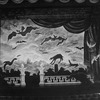 "A set designed by Edward Gorey from the Broadway revival of the play ""Dracula"""