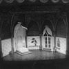 """A set designed by Edward Gorey from the Broadway revival of the play """"Dracula"""""""