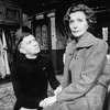 """Actors Tom Courtenay and Rachel Gurney in a scene from the Broadway production of the play """"The Dresser.""""."""