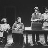 "Actresses (L-R) Pamela Reed, Linda Griffiths, Concetta Tomei and Robin Bartlett in a scene from the NY Shakespeare Festival production of the play ""Fen""."