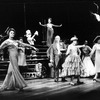 """Actress Alexis Smith (L) in a scene from the Broadway production of the musical """"Follies.""""."""