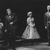 """(L-R) Actors Alexis Smith, John McMartin, Dorothy Collins and Gene Nelson in a scene from the Broadway production of the musical """"Follies.""""."""