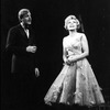 """Actors John McMartin and Dorothy Collins in a scene from the Broadway production of the musical """"Follies.""""."""