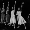 "A scene from the Broadway production of the choreopoem ""For Colored Girls Who Have Considered Suicide / When the Rainbow Is Enuf""."