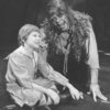 "(L-R) Actors Scott Schwartz and Keith Jochim as the Creature in a scene from the Broadway production of the play ""Frankenstein.""."
