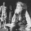 "(R-L) Actors John Carradine and Keith Jochim as the Creature in a scene from the Broadway production of the play ""Frankenstein.""."