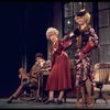 "(L-R) Actors Robert Fitch, Dorothy Loudon and Barbara Erwin in a scene from the Broadway production of the musical ""Annie.""."