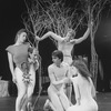 "Actors wearing naked-looking body suits in a scene from the Martha Clarke theatre piece ""Garden Of Earthly Delights"""