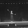 """Angela Lansbury performing """"Rose's Turn"""" in a scene from the Broadway revival of the musical """"Gypsy"""""""