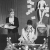 """(L-R) Angela Lansbury and Zan Charisse in a scene from the Broadway revival of the musical """"Gypsy"""""""