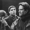 "Kevin Kline as Hamlet (R, with skull) in a scene from the NY Shakespeare Festival production of the play ""Hamlet""."